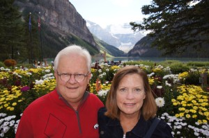 Bill & Stephannie at Lake Louise
