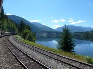 British Columbia by rail