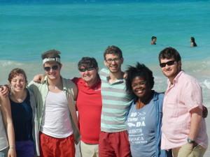 My Friend Brock (Right) in Cuba