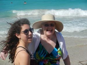 Laura  & Ann in Cuba