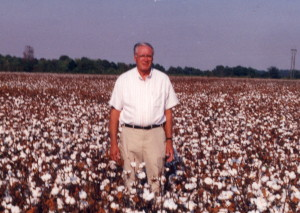 Dad Hogue in the SE Arkansas Delta where he lived most of his life